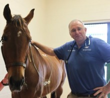 Dr. Rob MacKay and horse
